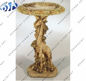 bird feeder unique shaped sandstone bird bath bowl