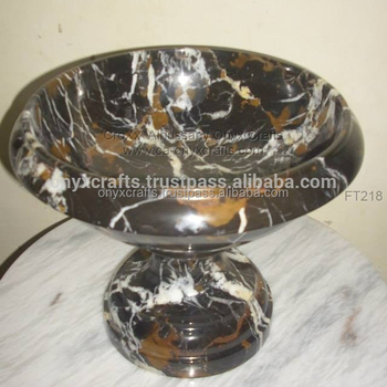 Black N Gold Fruit Dish in wholesale price