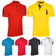 Hot sell polo shirts for men's clothes from online shopping with your custom logo