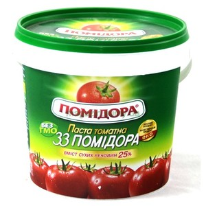 HIGH-quality easy open tomato paste bucket