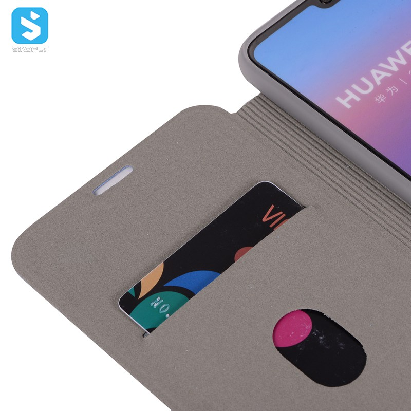PU Leather Case for Huawei P20, leather phone case