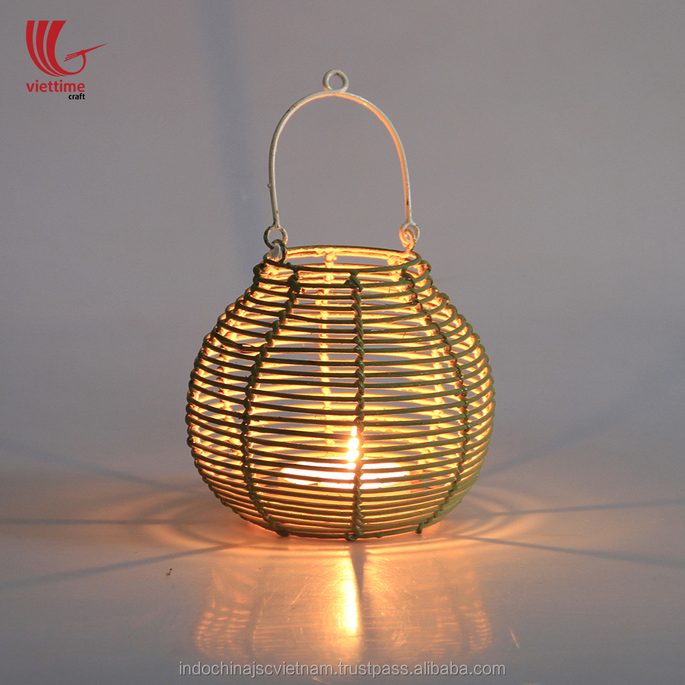 Vintage Bamboo Lantern Frame / Bamboo Candles Lantern in Festival