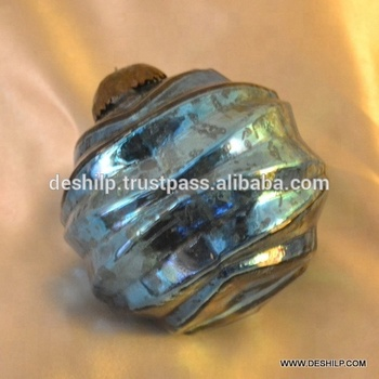 BLUE COLOR SILVER CHRISTMAS ORNAMENTS,CHRISTMAS ACCESSORIES,GLASS BALL ORNAMENTS