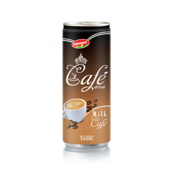 Milk Coffee Ice Coffee Drink Suppliers Vietnam in Aluminum can 180ml