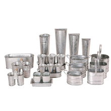 metal full range of planters for all size sets