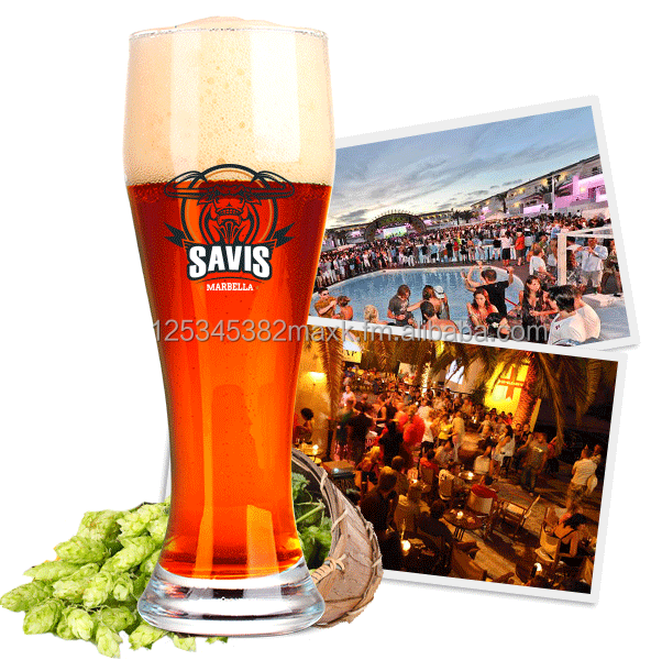 SAVIS Spanish craft beer, brewed in Marbella