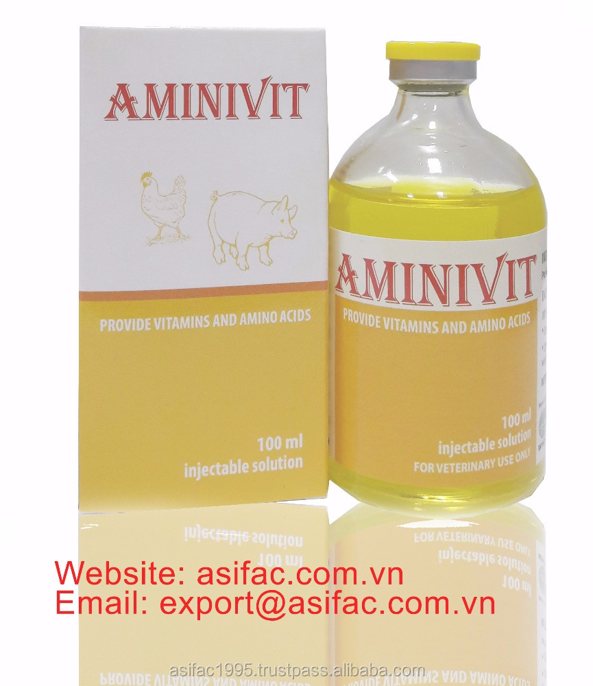 GMP, Multivitamine + amino acids in injective solution for cattle, poultry