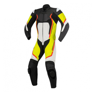 Custom Made Motorbike Cowhide Racing & Sport Suit Motorcycle Leathers and Suits Biker Suit 1 piece