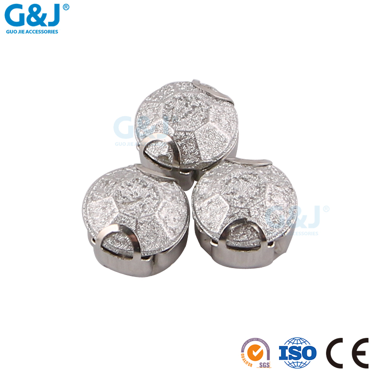 guojie brand profession new design pointback quality golden silver stainless cup with acylic stones