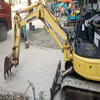 KOMATSU PC20MR-2 used mini excavator Japan's original mini excavator hydraulic cylinder hot selling