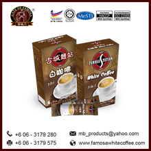 Malaysia 3 In 1 Coffee Gate of Famosa Instant White Coffee Exporter