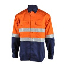 100% cotton flame retardant shirt for <strong>safety</strong> protective