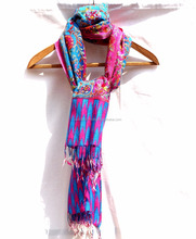 Premium Handwoven Cashmere Fancy Indian Handicraft Soft Lambswool Shawl Stole Scarf for Her