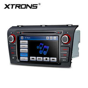 "XTRONS 7"" car dvd for mazda 3 with steering wheel control, touch screen car radio 2 din"