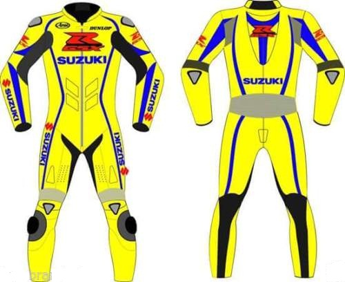 Suzuki Motor Bike 1-PC Leather Racing Suit