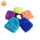 Chenille microfiber car cleaning glove