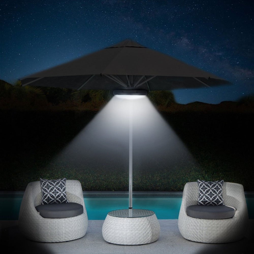 Wireless 64 LED with Rechargeable Built-In 4000mAh umbrella bluetooth speaker