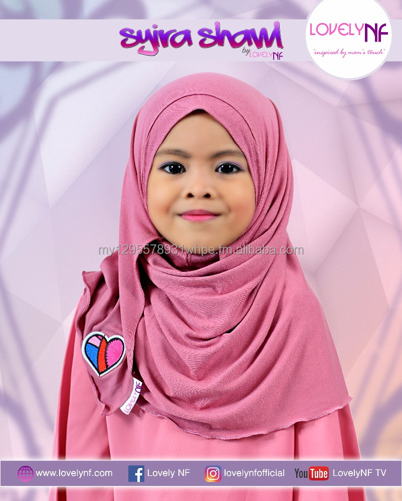 EXCLUSIVE Children EASY and COMFORT to wear shawl [Shira Shawl Punch]