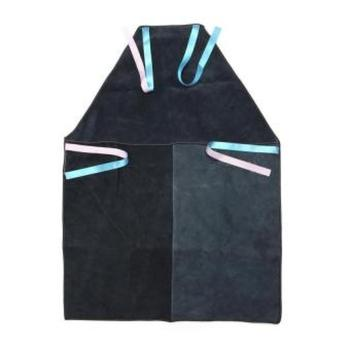 Black Colored Leather Welder Apron