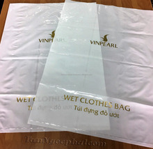 PE PLASTIC BAG PACKAGING WET CLOTHES BAG WITH CUSTOM PRINTED