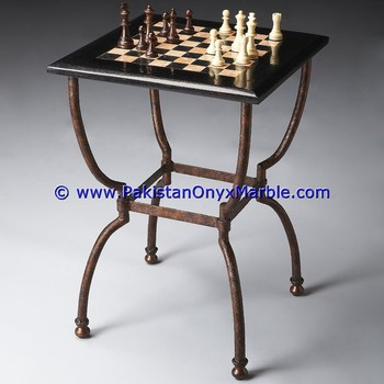 exporter supplier for marble tables modern chess table coffee natural stone chess figures