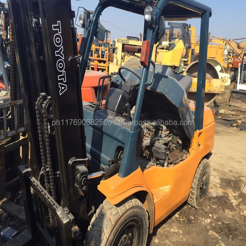 used Toyota 5ton forklift FD50, secondhand toyota FD50 forklift 5ton, Used lift truck 5 ton,original japan,cheap Price