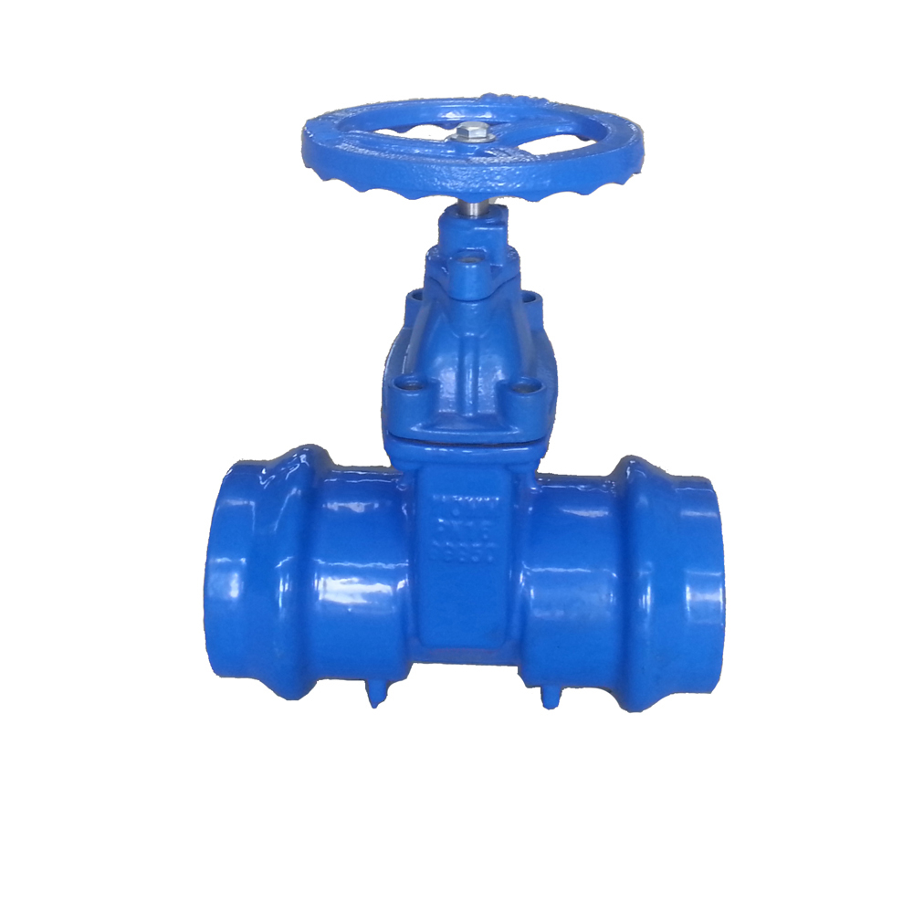 Socket Ends Gate Valve for PVC/ HDPE Pipe