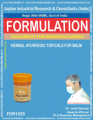 formula document for making Herbal Ayurvedic Topicals For Balm