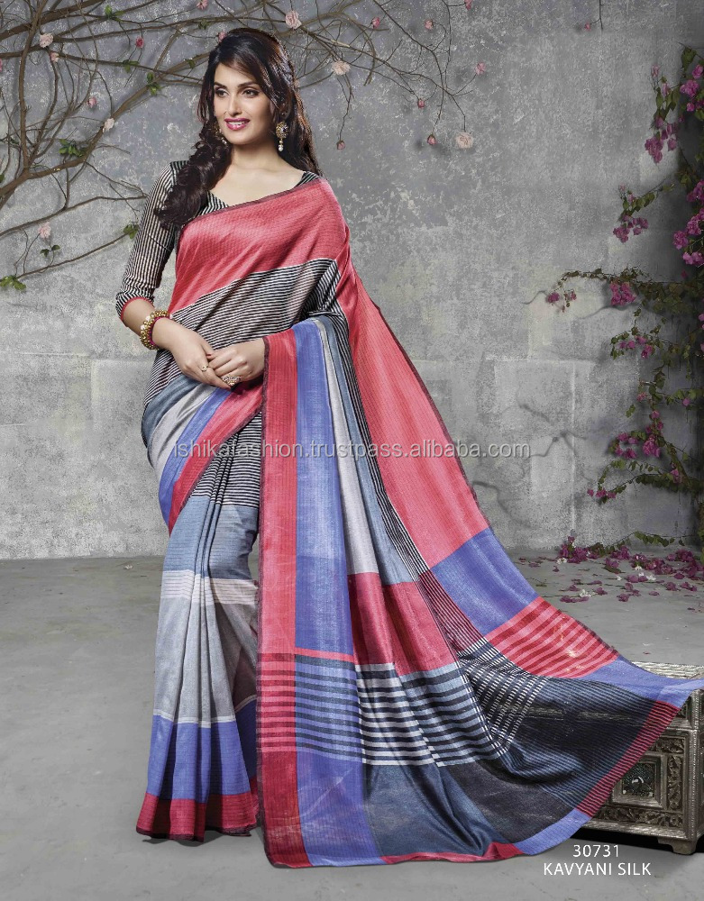 tussar silk sarees for exports