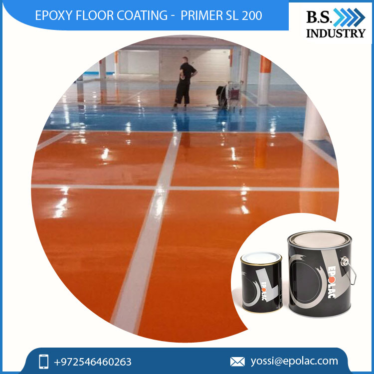 Bulk Supply of Epoxy Resin Floor Coating with Excellent Adhesion Property from Leading Brand