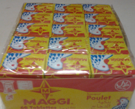 Quality Maggi Seasoning Cubes for food