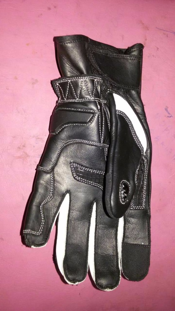 Pure Leather Motorcycle Racing Gloves with protection / Pro Racing Gloves / Motorbike Gloves in