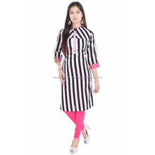 Exclusive Indian Pure Cotton Designer Printed Casual Wear Kurti