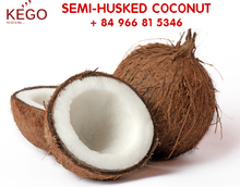 fresh coconut importers in UAE market