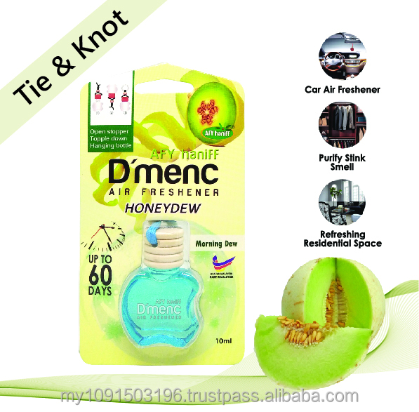 AFY Haniff D'menc Hanging Car Air Freshener Honeydew 10ml Morning Dew