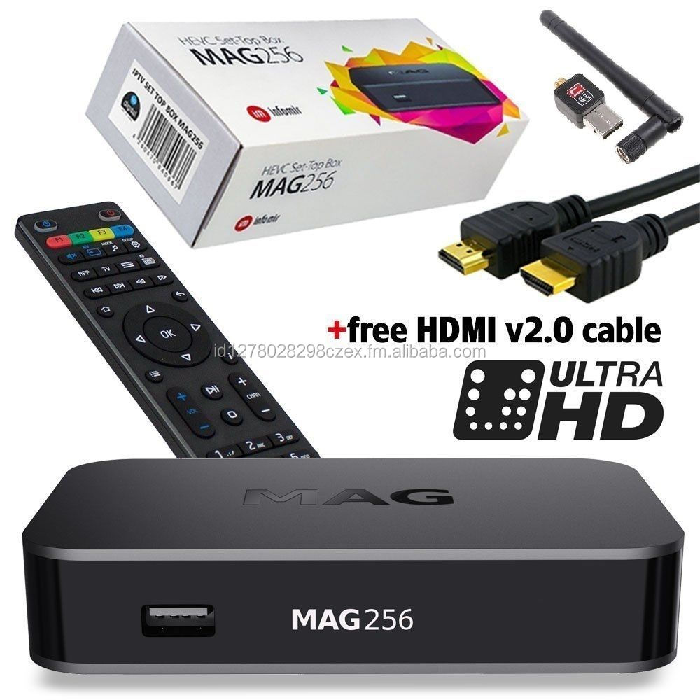 Set-Top-Box + WI-FI Antenna+ Free HDMI