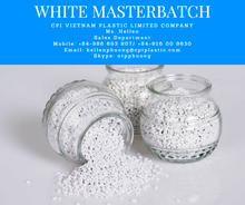 White masterbatch from CPI plastic Vietnam - Direct supply