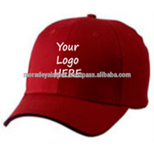 Customized Pol ester Caps Red Zen Fabric Brand Logos P Cap