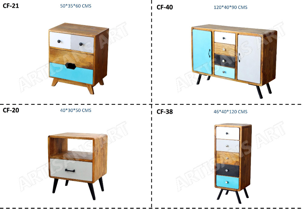 VINTAGE RETRO STYLE CHEST OF DRAWERS, FURNITURE MANUFACTURER