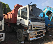 Japan used dump truck for sale ,used hino isuzu howo volvo dump truck in Shanghai