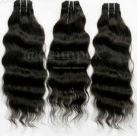 Real Unprocessed Temple Remy Hair Cuticle Aligned Free Weave Hair Indian Human Hair