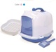 872-BD Semi-Transparent White Dome Cover Cat Litter Pan