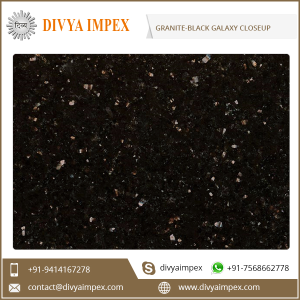 Black Galaxy Granite Price