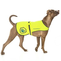 High Visibility Reflective Safety Harness Dog Protective Vest