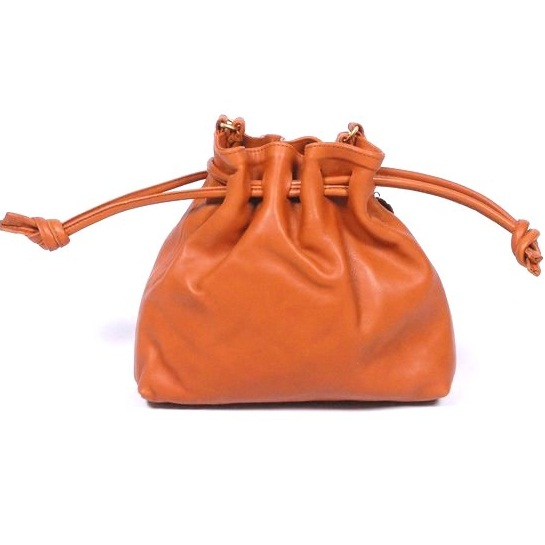 Small Coin Bag Leather PU Brown High Quality
