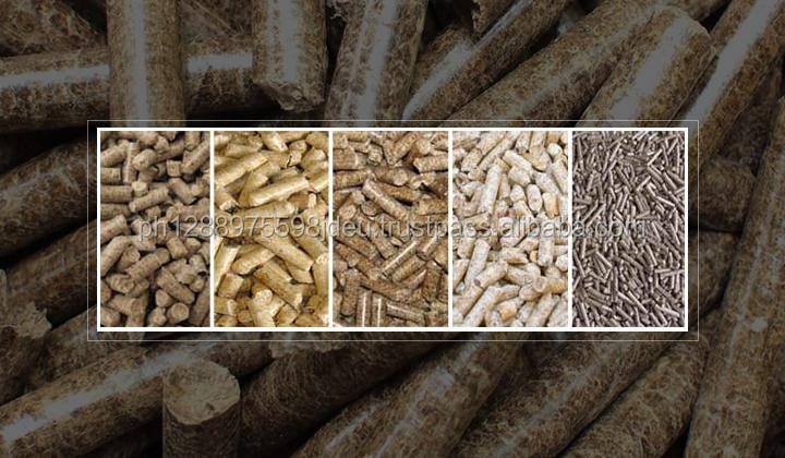 Wood pellets 6mm-8mm for industrial fuel (Wood from Thailand )