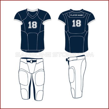American Football Uniform navy blue wholesale price