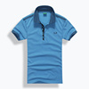 Designer Polo Shirts Summer Polos Cotton T-Shirt Men Short Sleeve Sport Polo Striped Collar