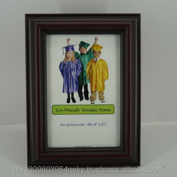 TOP QUALITY ECO FRIENDLY 4R WOOD READY MADE PHOTO FRAME