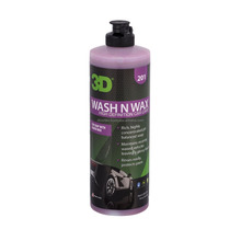3D Wash N Wax Concentrated All-In-One Car Wash Shampoo 473 ml. 201OZ16